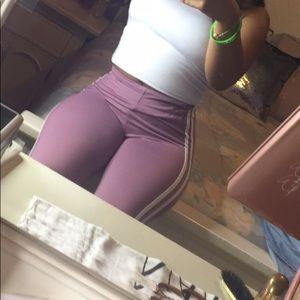 Pants - Rose leggings